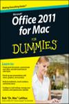 MS OFFICE 2011 FOR MAC FOR DUMMIES