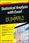 STATISTICAL ANALYSIS WITH EXCEL FOR DUMMIES, 3E
